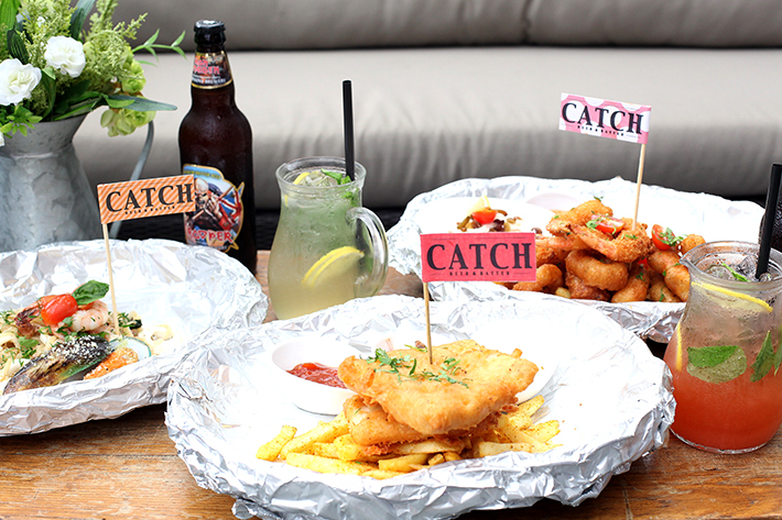 catch fish and chips