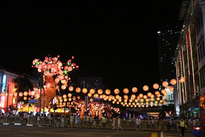 CNY Full Lights Display 2016
