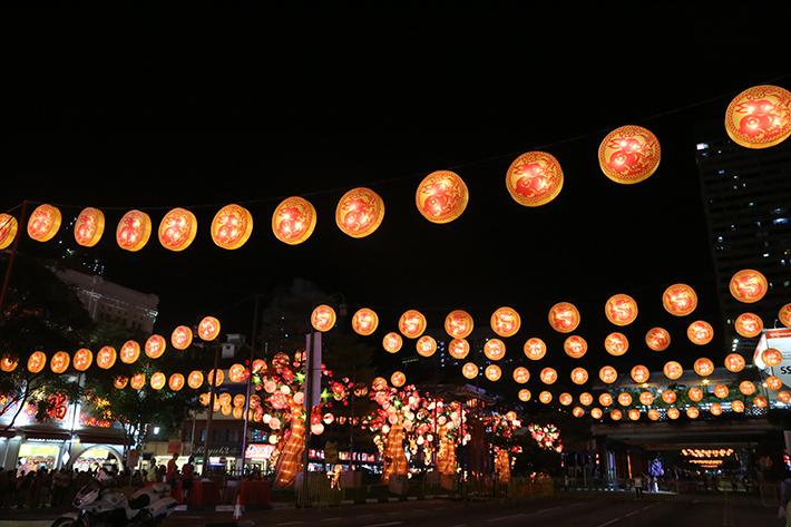 CNY Lights Display 2016