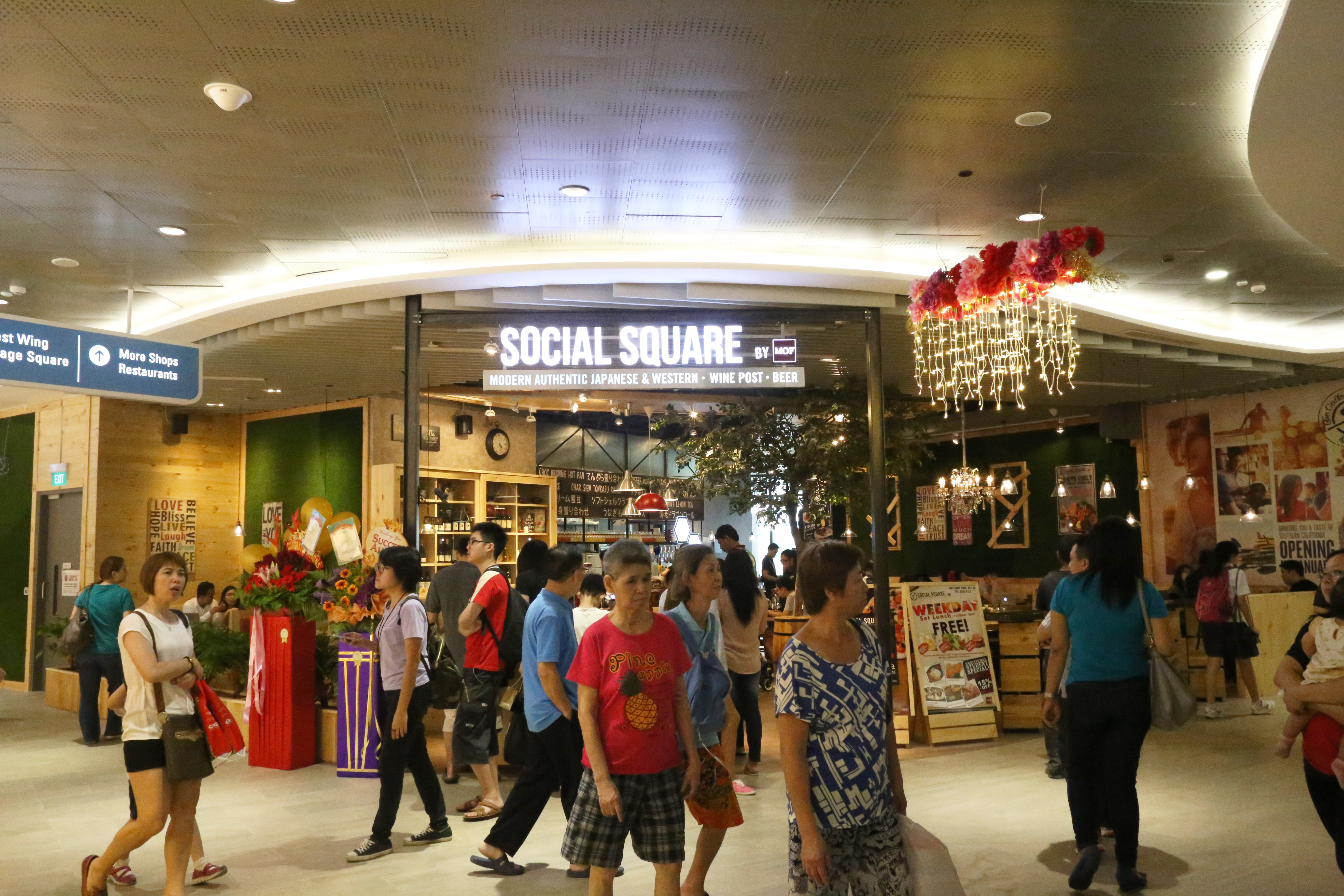Social Square Exterior Waterwaypoint