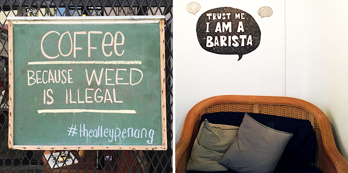 the alley cafe penang