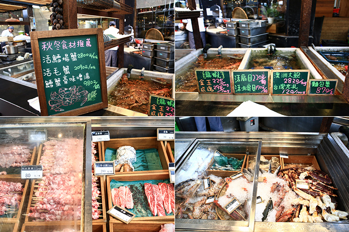 Addiction seafood market