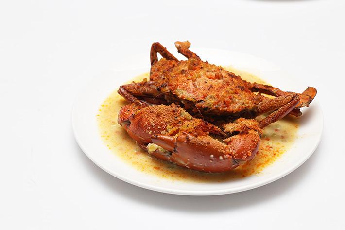 Baked Parmesan Crab