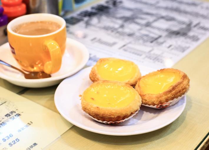 Honolulu Cafe Egg Tart