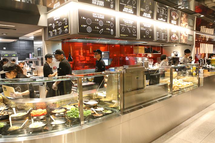 McD Next Salad Bar
