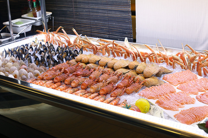 Penang St Buffet Seafood Spread