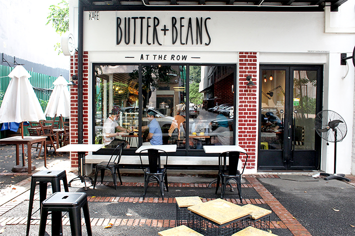 butter beans at the row