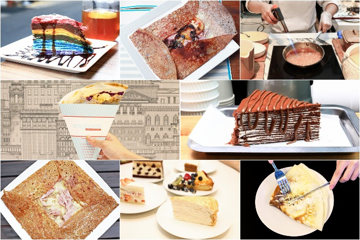 9 Crepes In Singapore