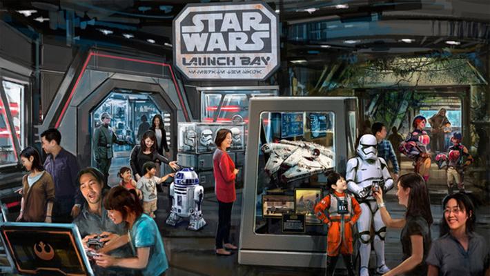 Shanghai Disney Star Wars