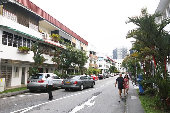Tiong Bahru Area