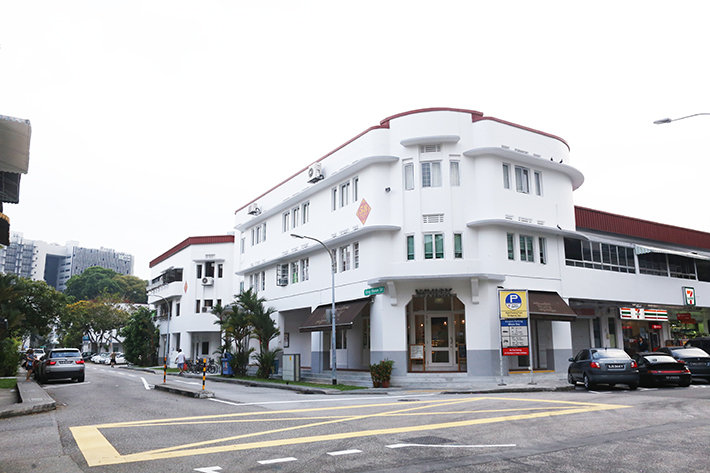 Tiong Bahru Neighbourhood