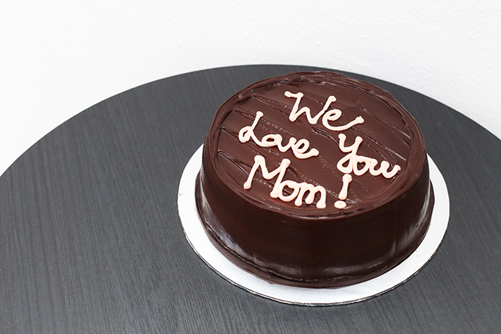 Awfully Chocolate Mothers Day Cake