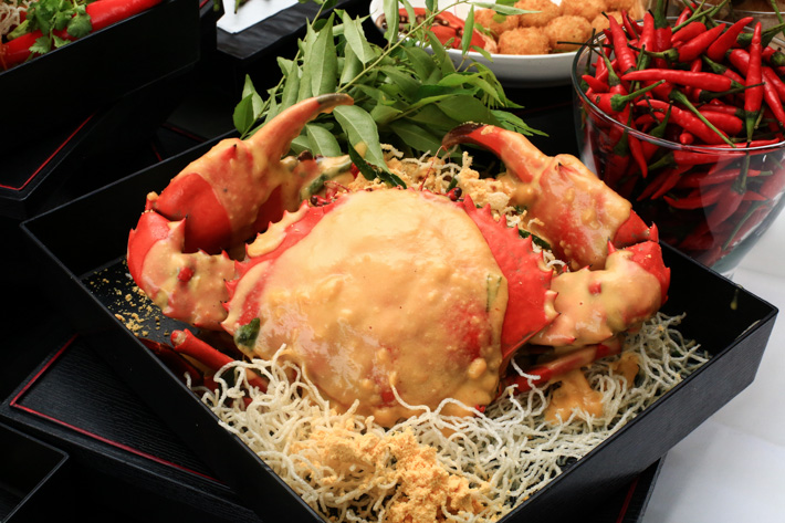 Salted Egg Yolk Crab