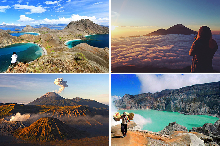 best indonesia hikes