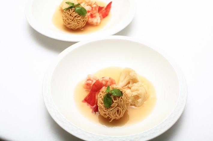 crispy noodle ball