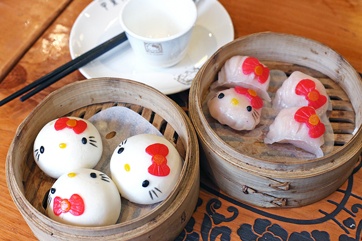 hello kitty dim sums