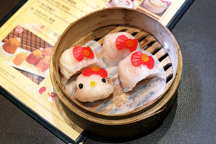 hellokitty hk prawn dumpling