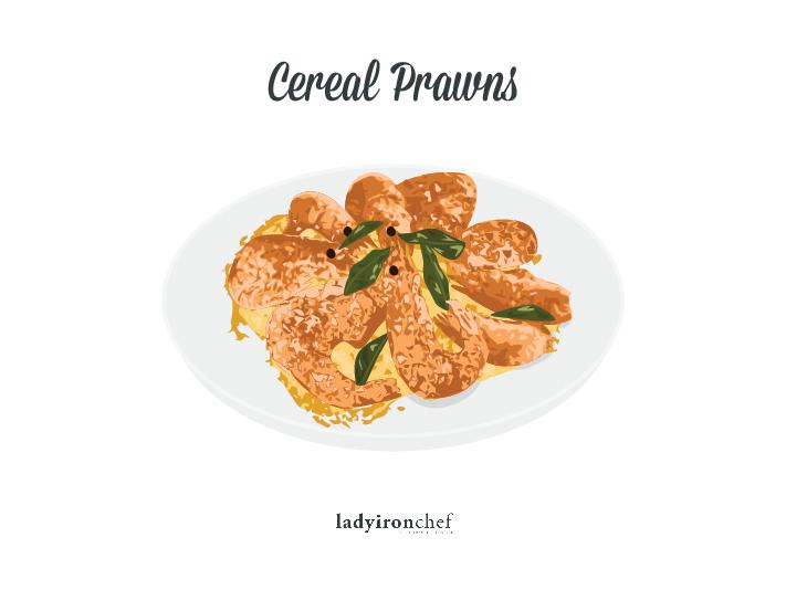 Cereal Prawns