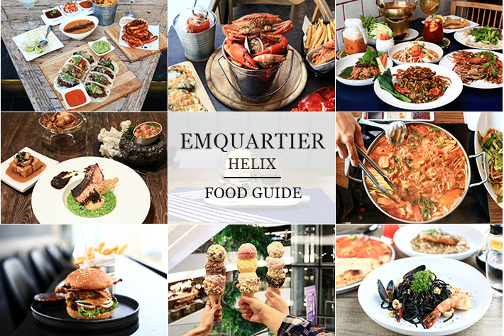 EmQuartier Food Guide