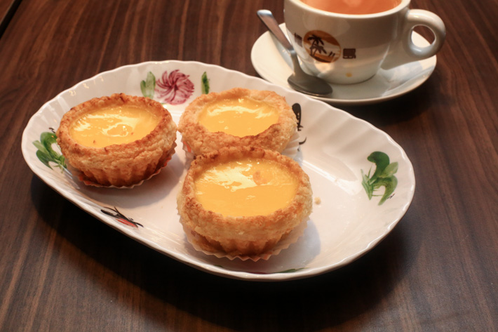 Honolulu Cafe Egg Tart