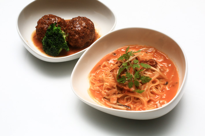 Pork Ball and Noodles