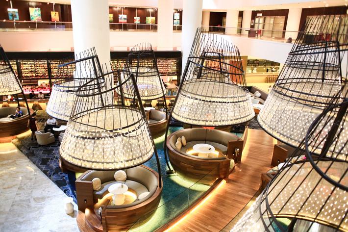 Pan Pacific Singapore Atrium