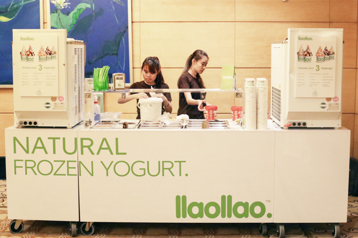 Llaollao Catering