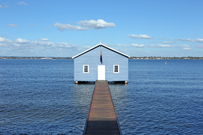 blue boat shed perth