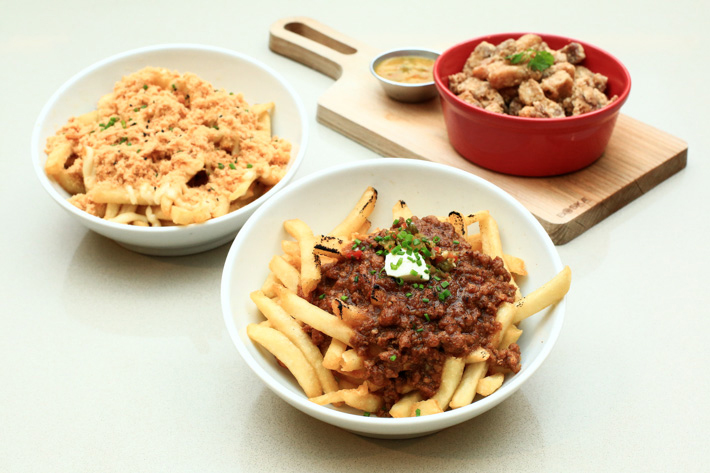 char siew chilli fries
