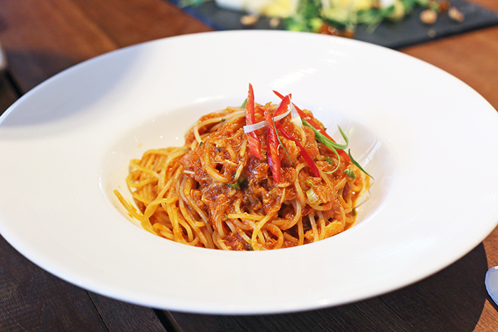 halia chilli crab pasta