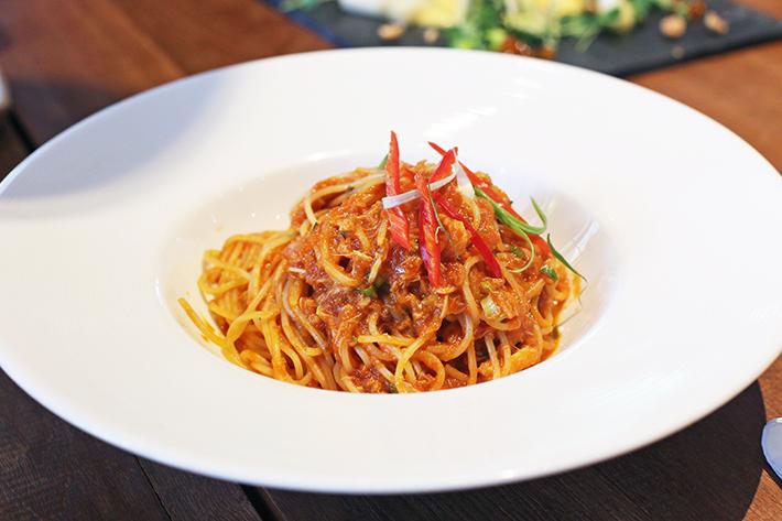 halia chilli crab pasta