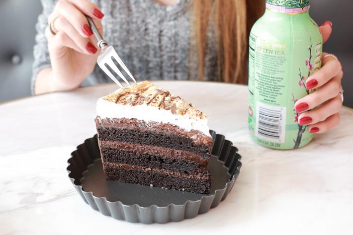 Cake Spade Chocolate Cake