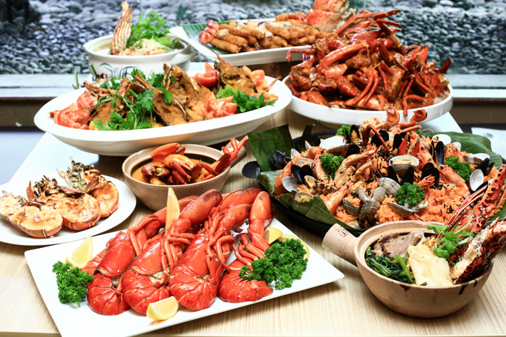 Lobster & Crab Buffet