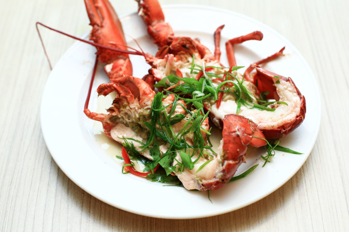 Lobster in Chinese Wine
