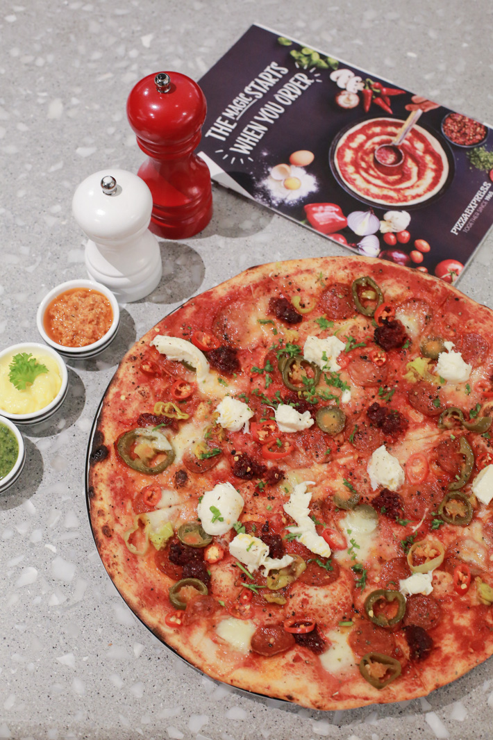 PizzaExpress American Hottest Pizza
