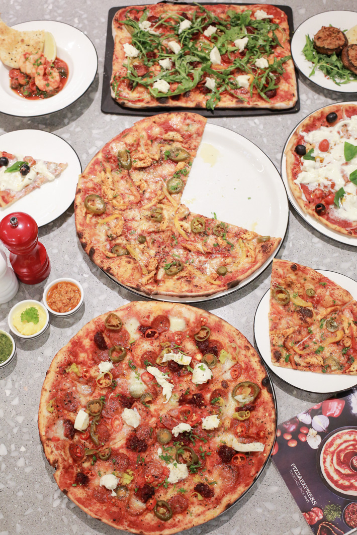 PizzaExpress Pizzas