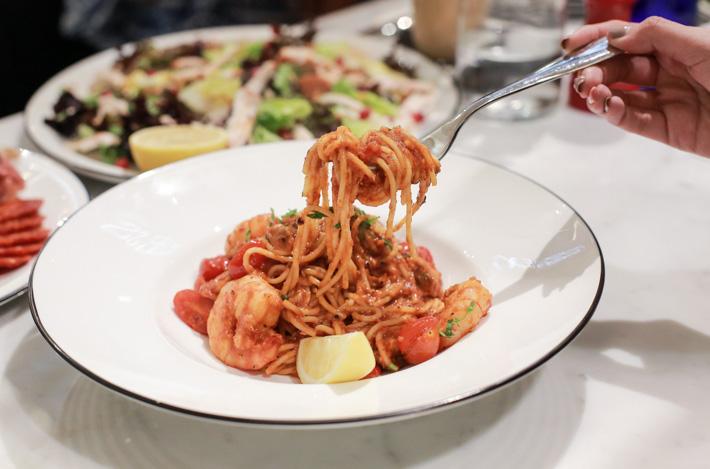 PizzaExpress Seafood Pasta