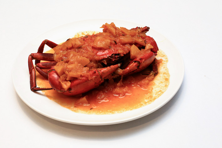 Pumpkin Crab