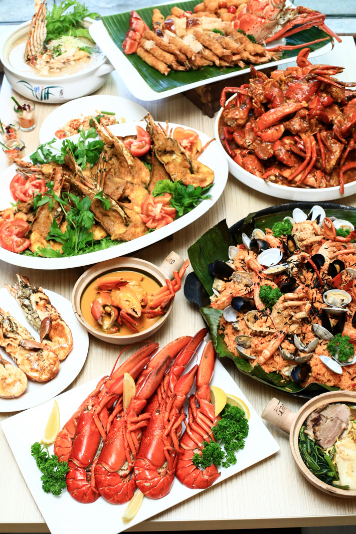 Singapore Lobster Buffet
