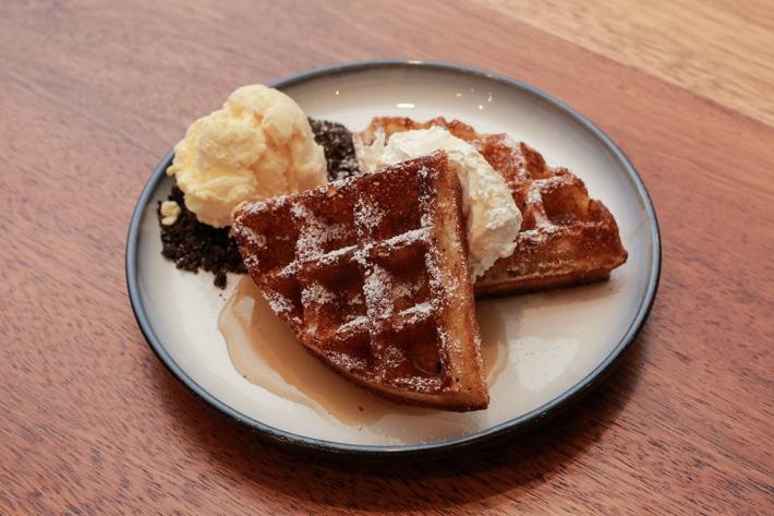 awfully chocolate waffle