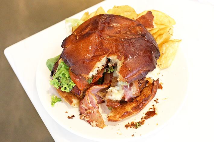 bacon candour burger