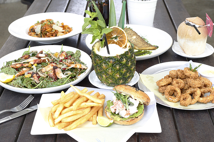 Tanjong Pagar Beach Club Food