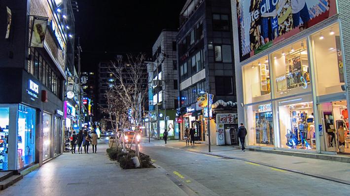 Apgujeong Street