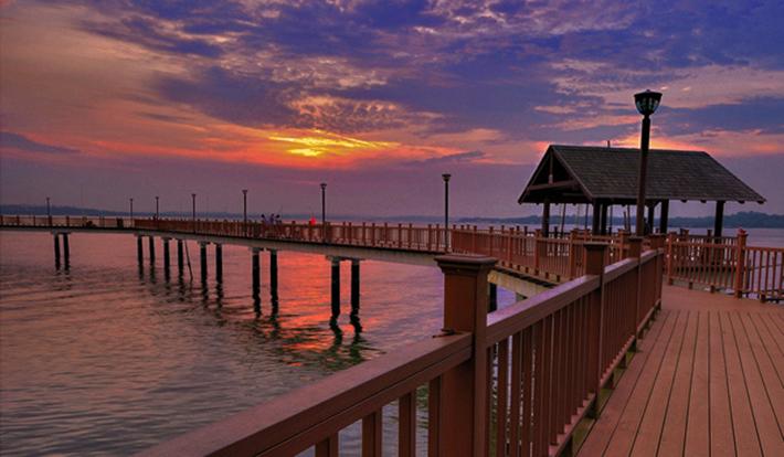 Changi Coastal Point Boardwalk