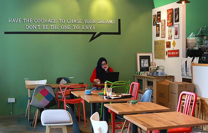 Envy Coffee Interior