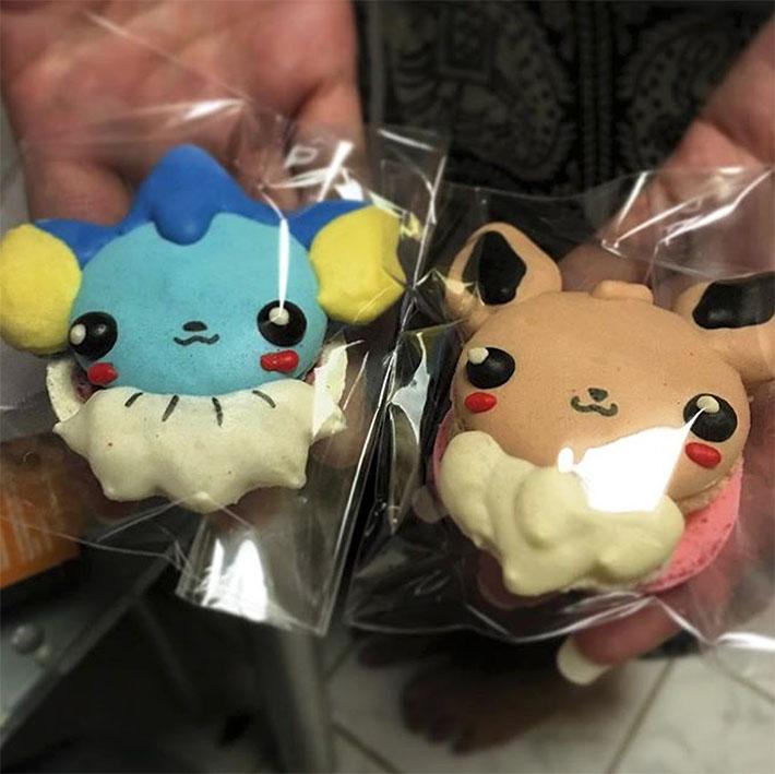Pokemon Macarons