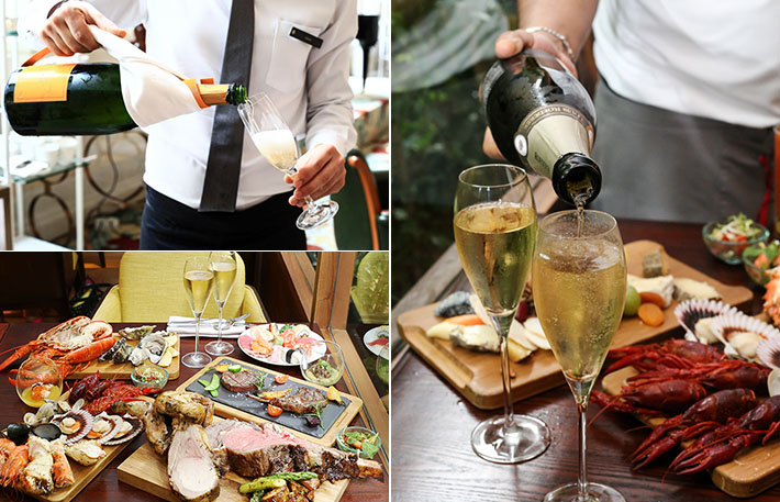 Singapore Best Champagne Brunch
