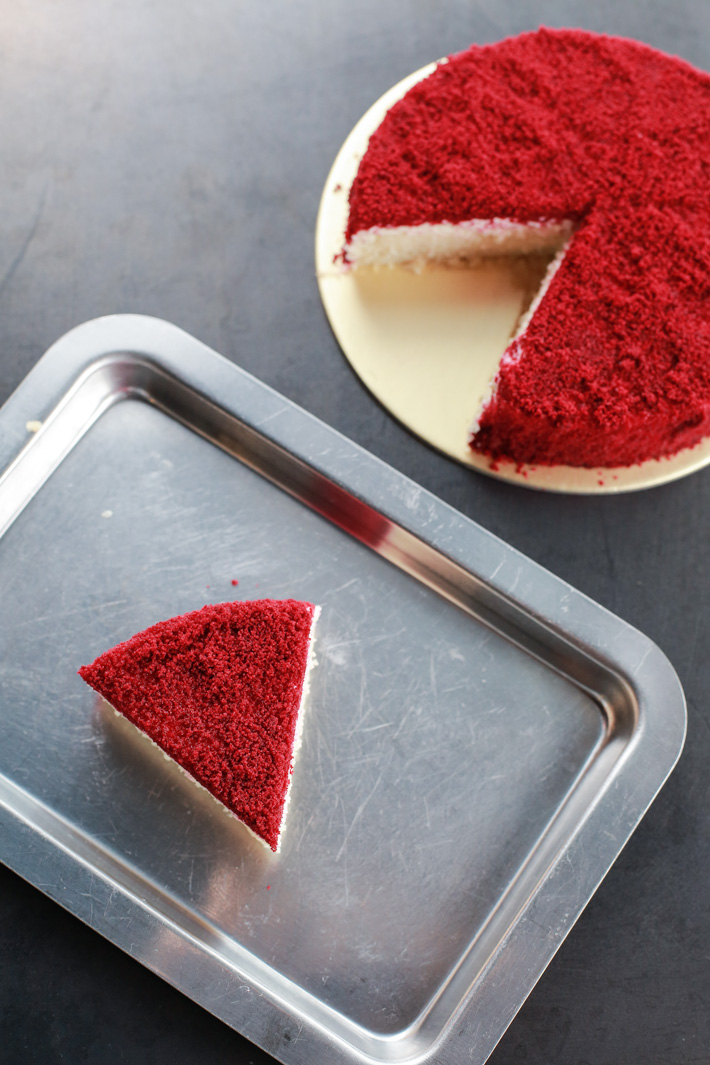 Sinpopo Red Velvet Cheesecake