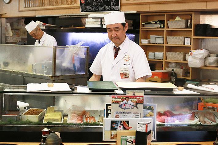 Sushi Zanmai Chef