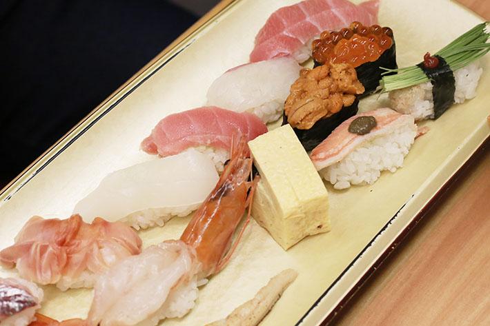 Sushi Zanmai Sushi Platter